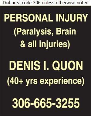 Quon Ferguson (DENIS I QUON) - Lawyers Digital Ad