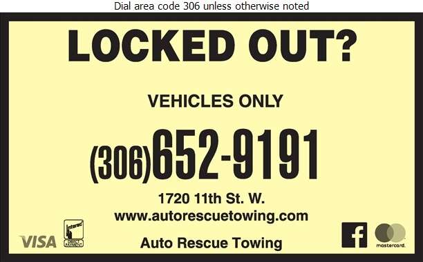 Auto Rescue Towing - Locksmiths Digital Ad