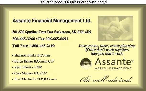 Assante Wealth Management - Financial Planning Consultants Digital Ad