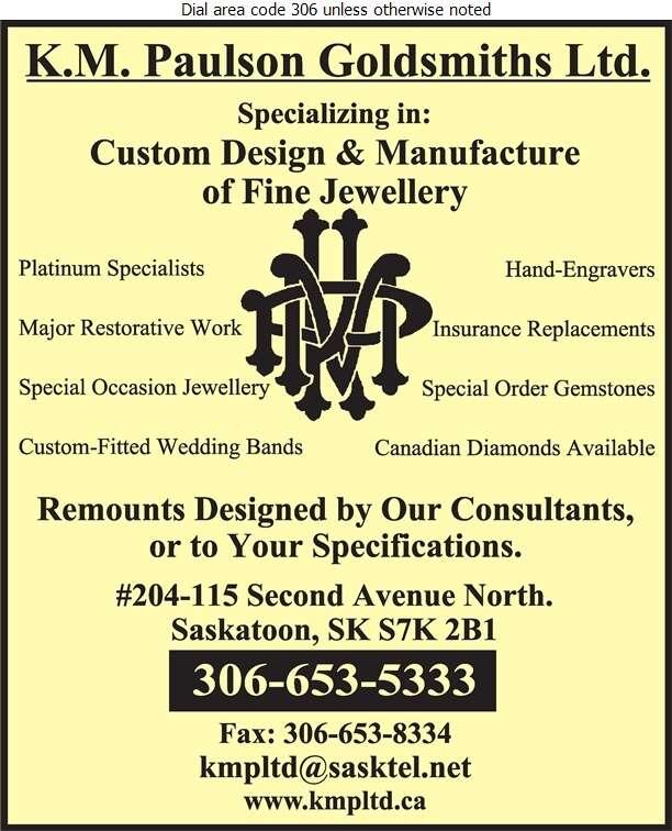K M Paulson Goldsmith Ltd - Jewellers Retail Digital Ad