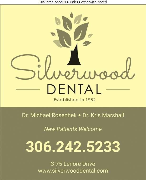 Silverwood Dental (Dr Kris Marshall) - Dentists Digital Ad