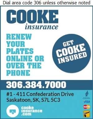 Cooke Agencies Ltd - Insurance Auto Digital Ad