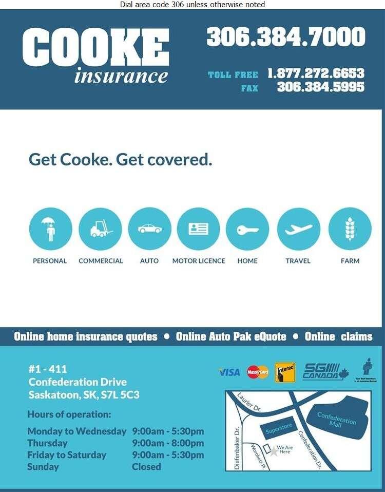 Cooke Agencies Ltd - Insurance Digital Ad