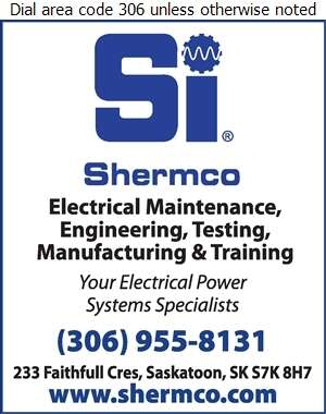 Shermco Industries Canada - Electric Contractors Digital Ad