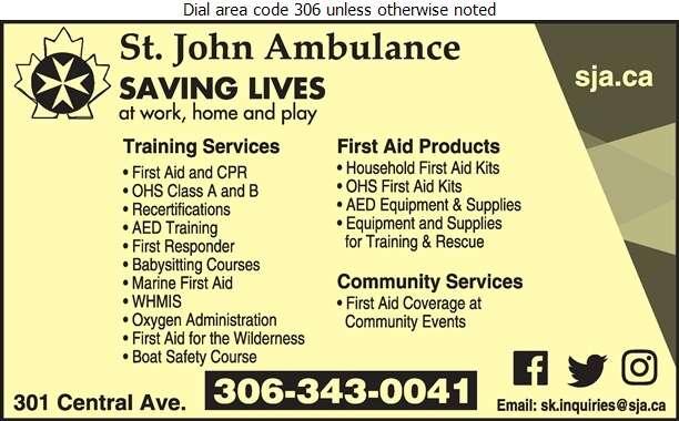 St John Ambulance - First Aid Services Digital Ad