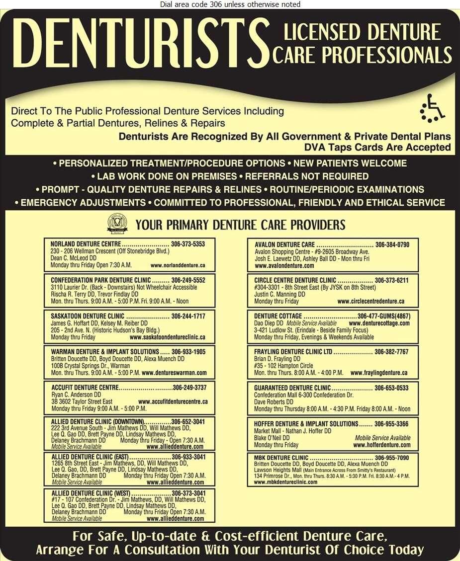 Frayling Denture Clinic Ltd - Denturists Digital Ad