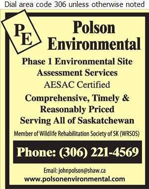 Polson Environmental - Environmental Consultants Digital Ad