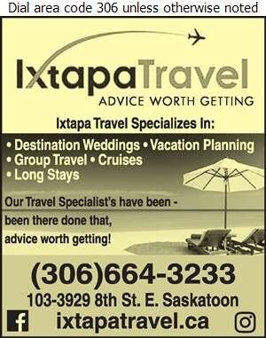 Ixtapa Travel - Travel Service Digital Ad