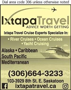 Ixtapa Travel - Cruises Digital Ad