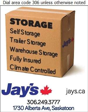 Jay's Transportation Group Ltd (Dispatch) - Storage- Household & Commercial Digital Ad