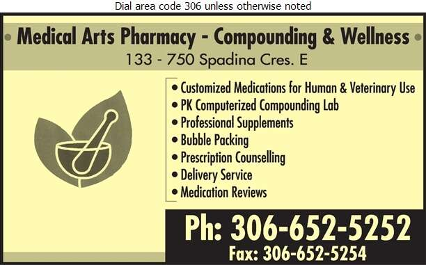 Medical Arts Pharmacy - Pharmacies Digital Ad