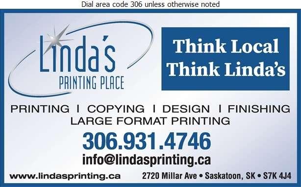 Linda's Printing Place - Printers Digital Ad