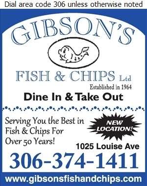 Gibson's Fish & Chips Ltd - Fish & Chips Digital Ad
