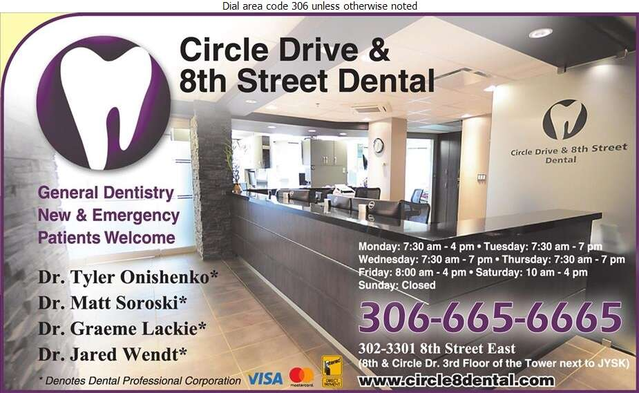 Circle Drive & 8th Street Dental - Dentists Digital Ad
