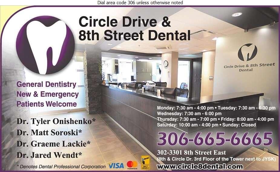 Circle Drive & 8th Street Dental - Dentists Digital Ad