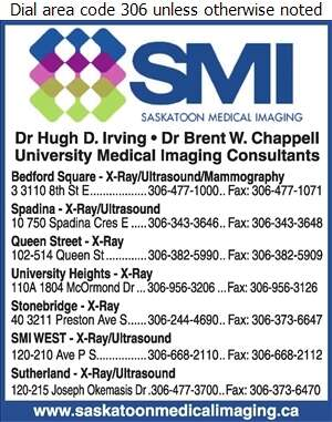 Saskatoon Medical Imaging (Bedford Square) - Physicians & Surgeons Digital Ad