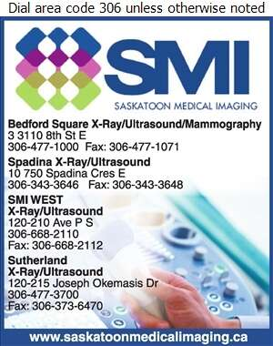 Saskatoon Medical Imaging (Bedford Square) - Ultrasound Digital Ad