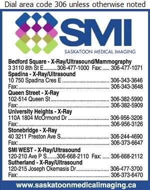Saskatoon Medical Imaging (Bedford Square) - X-Ray Digital Ad