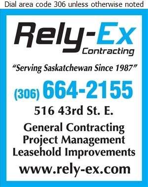 Rely-Ex Contracting Inc - Contractors General Digital Ad