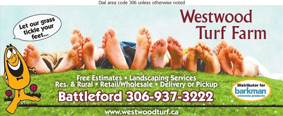 Westwood Turf Farm - Sod & Sodding Service Digital Ad