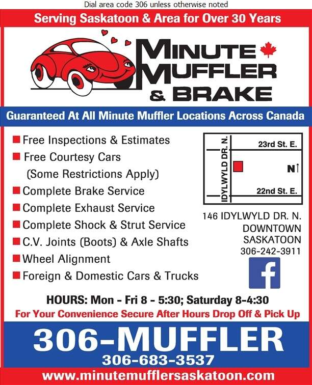 Minute Muffler & Brake - Brake Service Digital Ad