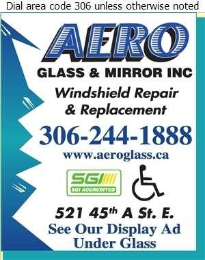 Aero Glass & Mirror Inc - Windshields Repair & Servicing Digital Ad