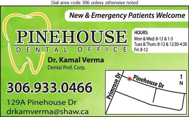 Pinehouse Dental Office - Dentists Digital Ad