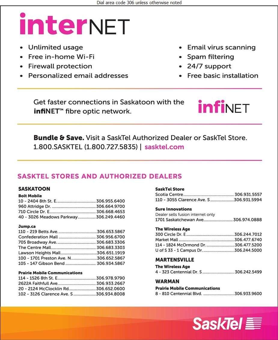 SaskTel Internet - Internet Products & Services Digital Ad