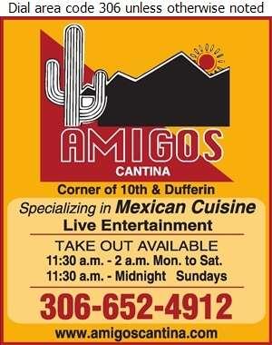 Amigos Cantina - Restaurants Digital Ad