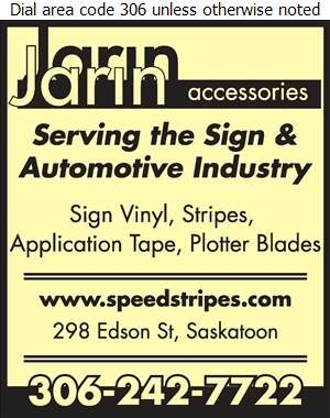 Jarin Accessories - Signs Equipment & Supplies Digital Ad