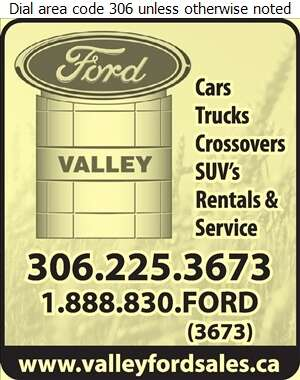 Valley Ford Sales - Auto Dealers New Cars Digital Ad