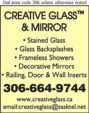 Creative Glass & Mirror - Glass Stained & Leaded Digital Ad