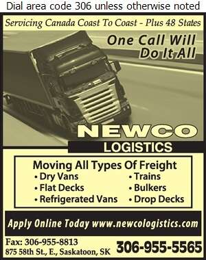 Newco Logistics - Transport Service Digital Ad