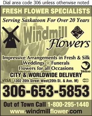 Windmill Flowers - Florists Retail Digital Ad