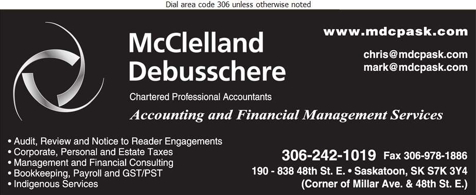 Storozuk McClelland Chartered Professional Accountants - Accountants Chartered Professional Digital Ad
