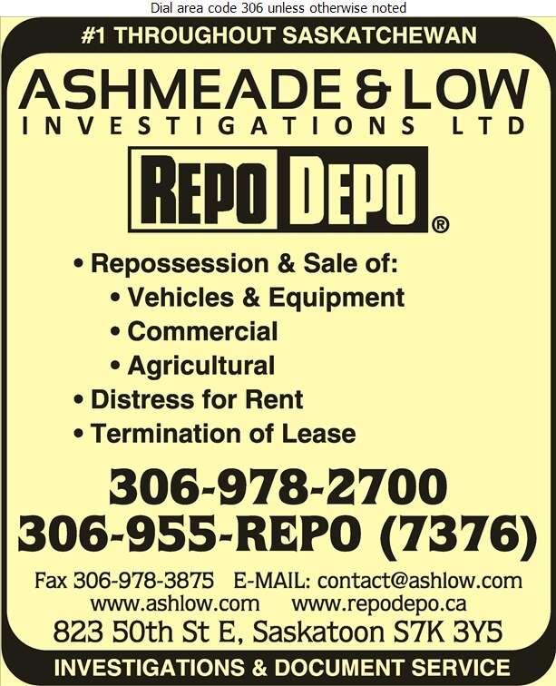 Ashmeade & Low Investigations Ltd - Bailiffs Digital Ad