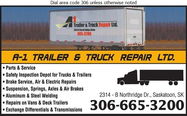 A-1 Trailer & Truck Repair Ltd - Trailers Repairing & Service Digital Ad