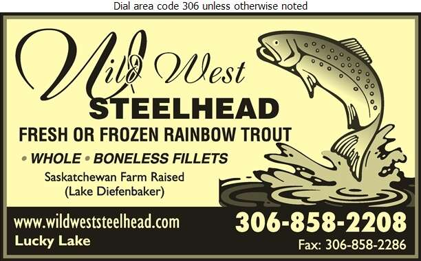 Wild West Steelhead - Fish & Seafood Whol Digital Ad