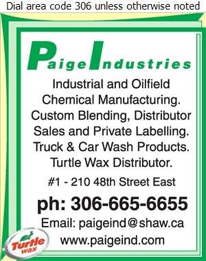 Paige Industries Ltd - Chemicals Digital Ad