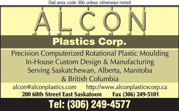 Alcon Plastics Corp - Plastics Moulders Digital Ad