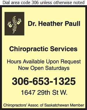 Paull Chiropractic and Massage Therapy - Chiropractors Digital Ad
