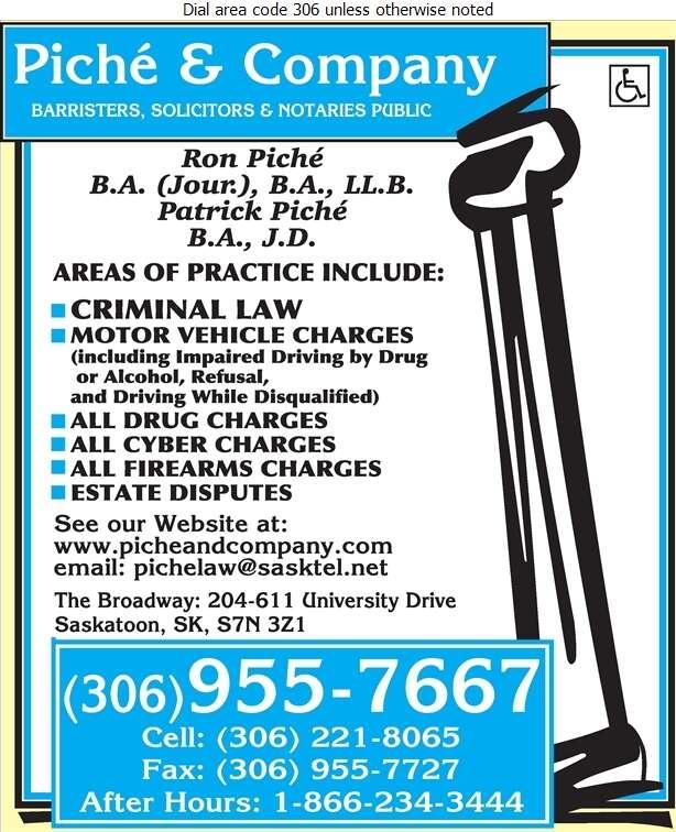 Piche & Company (Ronald P Piche) - Lawyers Digital Ad