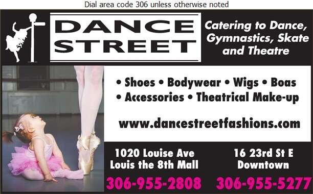 Dance Street - Dancing Supplies Digital Ad