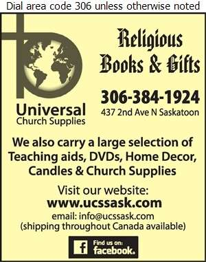 Universal Church Supplies - Book Dealers Retail Digital Ad