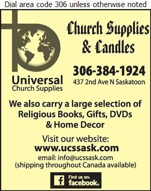 Universal Church Supplies - Church Supplies Digital Ad