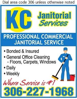 K C Janitorial - Janitor Service Digital Ad