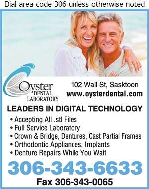 Oyster Dental Lab - Dental Laboratories Digital Ad