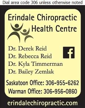 Erindale Chiropractic Health Centre (Dr Derek Reid) - Chiropractors Digital Ad