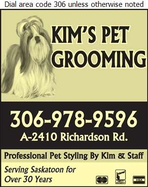 Kim's Pet Grooming - Pet Washing & Grooming Digital Ad