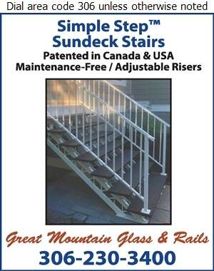 Great Mountain Glass & Rails - Stair Builders Digital Ad